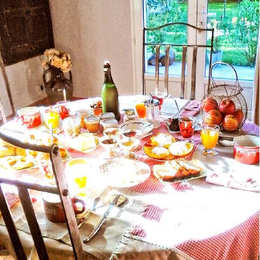 Chambre d'hote Vaucluse - petit déjeuner
