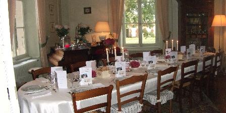 Chambre d'hotes Château de Belle-vue > Table d'hôtes