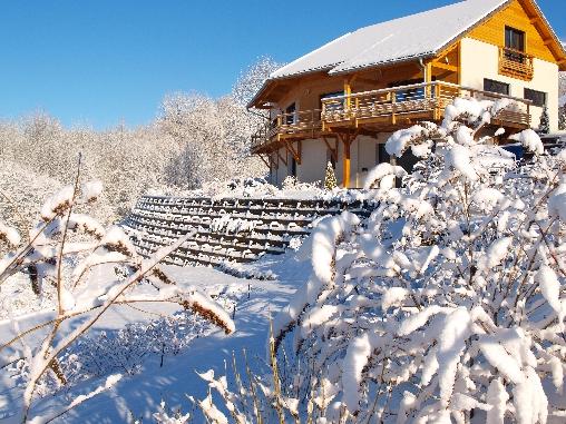 Chambre d'hote Hautes Alpes - vue du balcon