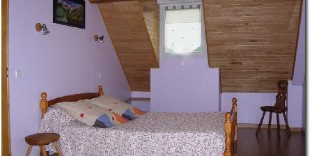 Gîte des Moulins Chambre parme 1er étage