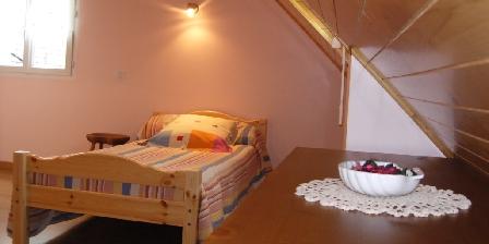 Gîte des Moulins Chambre rose 1er étage