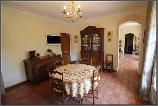 Chambre d'hote Gard - Salle des petits déjeuners