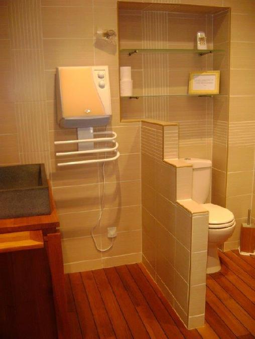 Douche et toilette