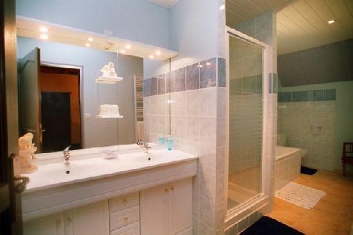 salle de bain manoir