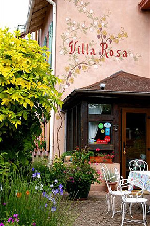 Villa Rosa, Chambres d`Hôtes Trois Epis (68)