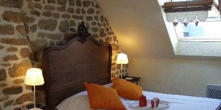 L'Angevinière Chambre double + 1 lit 1 personne Gîte les Hortensias