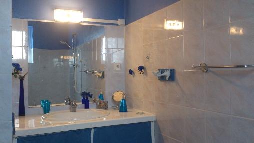 Salle de bain Gîte les Coquelicots