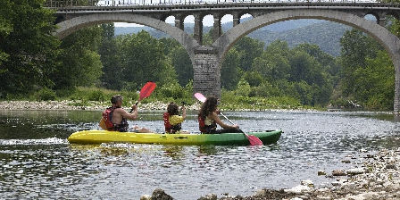 Les Oliviers Saint Ambroix,canoeing on the Cèze river