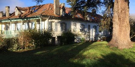 La Billebaude La maison vue du Parc