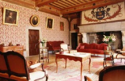 Château d'Agel, Grande salle