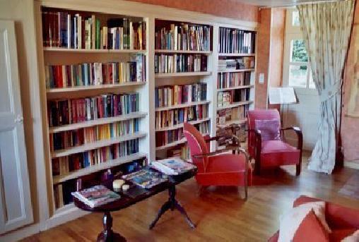 Chambre d'hote Creuse - la bibliothèque