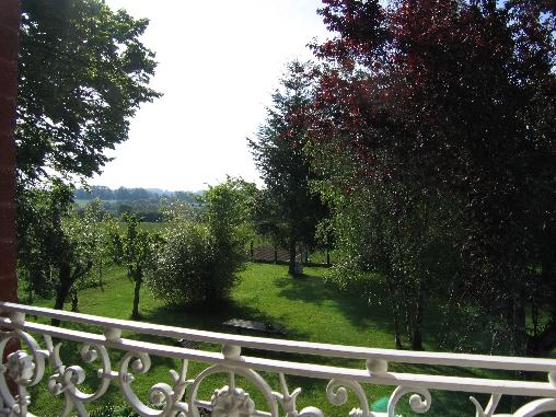 vue d'une chambre sur le paysage Creusois