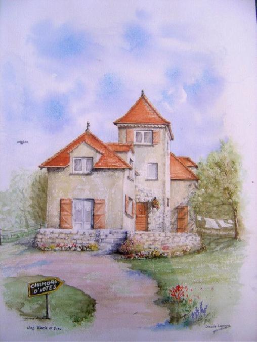 Chambre d'hote Lot - Le Bout du Roc, Chambres d`Hôtes Alvignac (46)