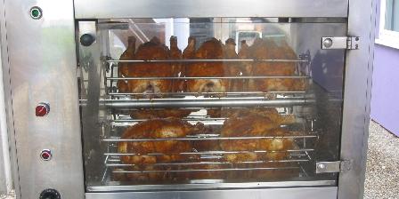 Gite Au Pays Rhenan > poulets rôtis