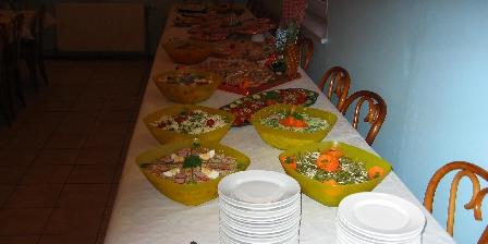 Gite Au Pays Rhenan > Nos buffets