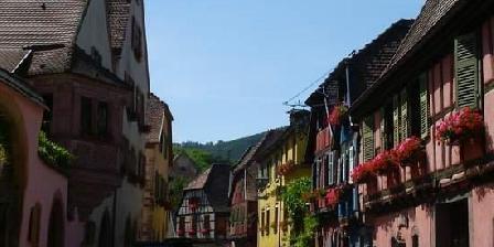 Gite Colmar Rue principale du village