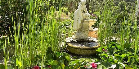 La Cagnardette  Le coin Zen du jardin