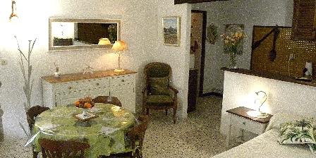 La Cagnardette  Studio de l' Adret *** - Le séjour