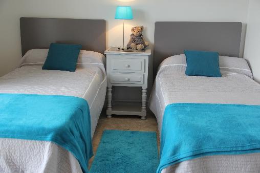 Gîtes de Bénodet, Chambre 2 lits 90X200
