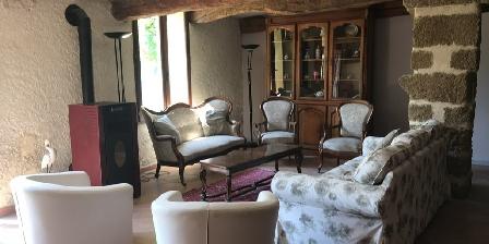 Domaine du Grand Causeran Gîte du Templier - living room