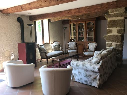 bed & breakfast Vaucluse - Gîte du Templier - living room