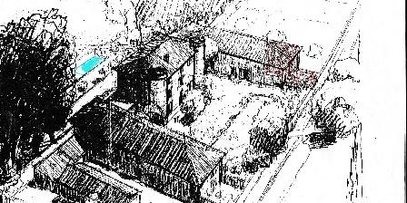 Domaine de Lamartine Vue plongeante d'artiste