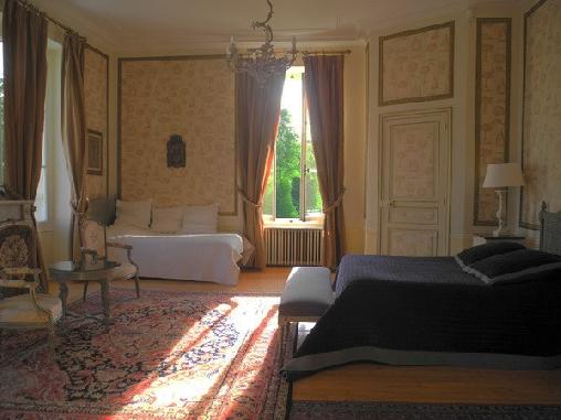 Chambre d'hote Seine-et-Marne - Château des Moyeux, Chambres d`Hôtes La Chapelle-Rablais (77)