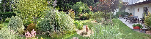 Chambre d'hote Seine-Maritime - le jardin