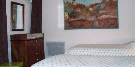Les Pérelles Chambre lits jumeaux suite Vasterival 2 personnes