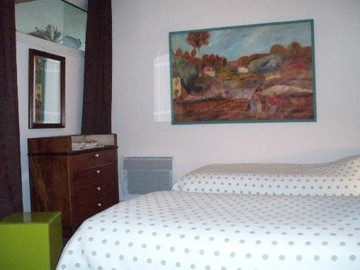 Chambre d'hote Seine-Maritime - chambre lits jumeaux suite Vasterival 2 personnes