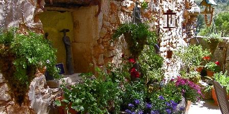 La Table du Bonheur La terrasse