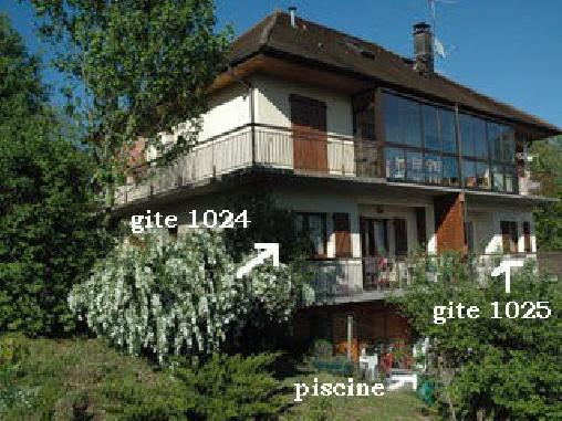 Gîtes des Planchettes, Chambres d`Hôtes Marigny (39)