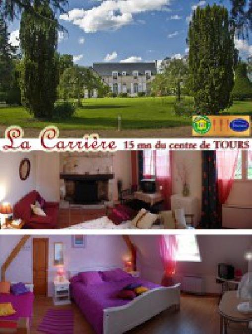 La Carrière, Chambres d`Hôtes Charentilly (37)