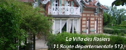 Bed and breakfast La Villa des Rosiers