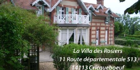 Chambre d'hotes La Villa des Rosiers > La Villa des Rosiers, Chambres d`Hôtes Cricqueboeuf (14)