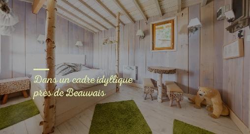 Le Refuge des 3 Ours, Chambres d`Hôtes Essuiles (60)