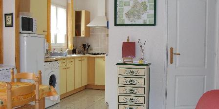 Cottage Gîte de Lescurou 8 pers. > cuisine
