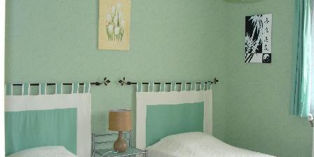 Cottage Gîte de Lescurou 8 pers. > chambre double
