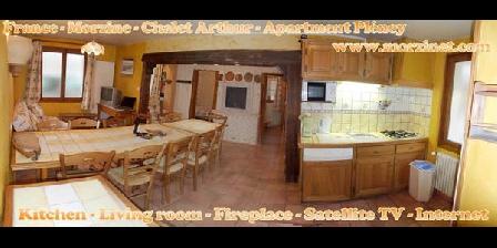 Ferienwohnung Chalet Arthur  > Morzine-Avoriaz - Chalet Arthur - Appartement RDC Pléney, Chambres d`Hôtes Morzine (74)