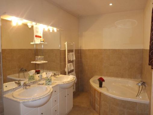 Salle de bain chambre la Montignacienne