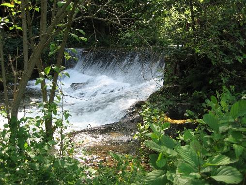 Forges d'Enfalits, le barrage