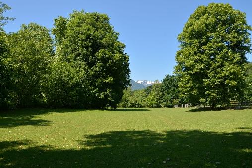 Forges d'Enfalits, partie du parc