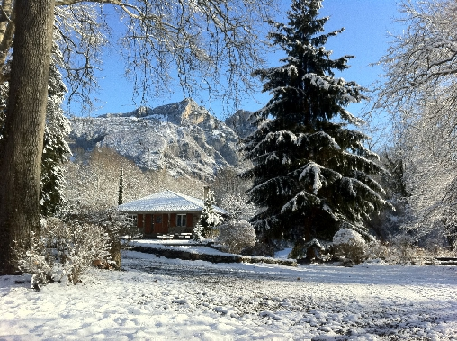 Forges d'Enfalits en hiver