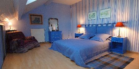 La Maison de Brian et Christiane Chambre Bleue