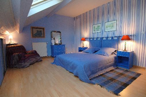 Chambre d'hote Loiret - chambre Bleue