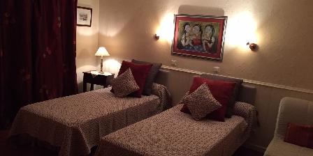 La Maison de Brian et Christiane Chambre Abricot