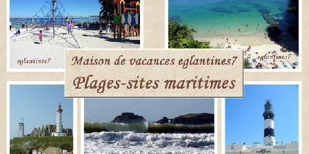 Gite Gîte Longépé  > 300m belle plage - jolie maison de vacances 8 pers, Gîtes Plougonvelin (29)