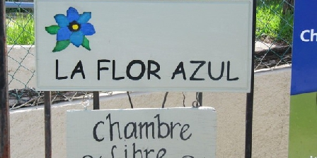 La Flor Azul La Flor Azul, Chambres d`Hôtes Grospierres (07)