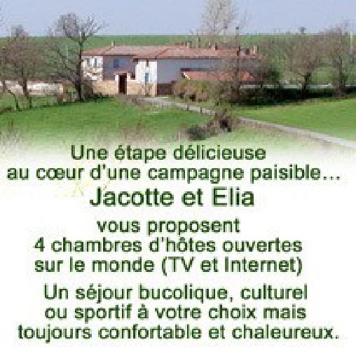 Chambre d'hote Loire - Chez Jacotte et Elia, Chambres d`Hôtes St Galmier (42)