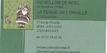 La Ferme de L'Oraille La Ferme de L'Oraille, Chambres d`Hôtes Rugles (27)